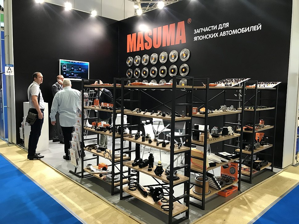 A company MASUMA has once again participated in an exhibition MIMS Automechanika Moscow 2018